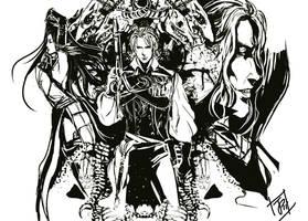 Castlevania: Order of Ecclesia by Juongie