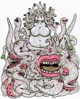 Demi-Goddess 2 Shub-Niggurath by DarkmasterN