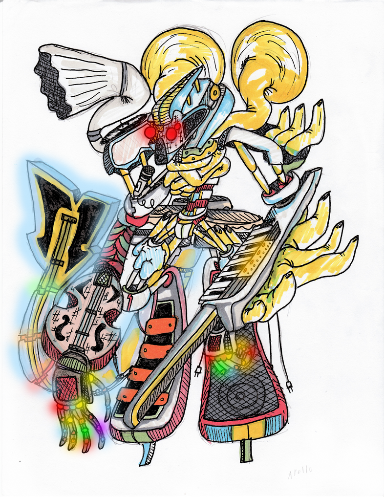 Demi-God 13 Apollo by DarkmasterN