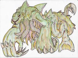 Demi-God 18 Dagon by DarkmasterN