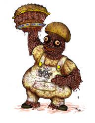 The Burger Child by DarkmasterN