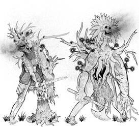 Drawlloween 13 Zombie