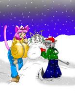 Snow lady by DarkmasterN