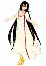 Dark Tamariel nightgown (color)