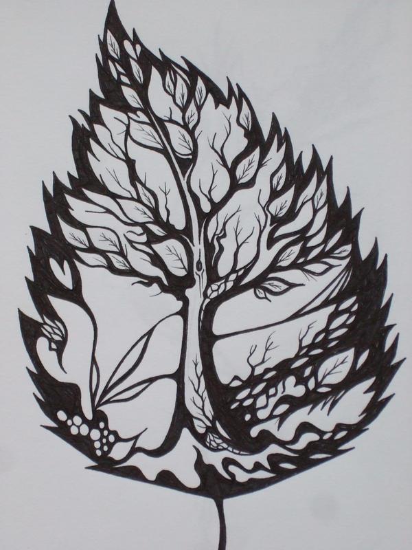birch leaf by vincentiusss on deviantart. Black Bedroom Furniture Sets. Home Design Ideas