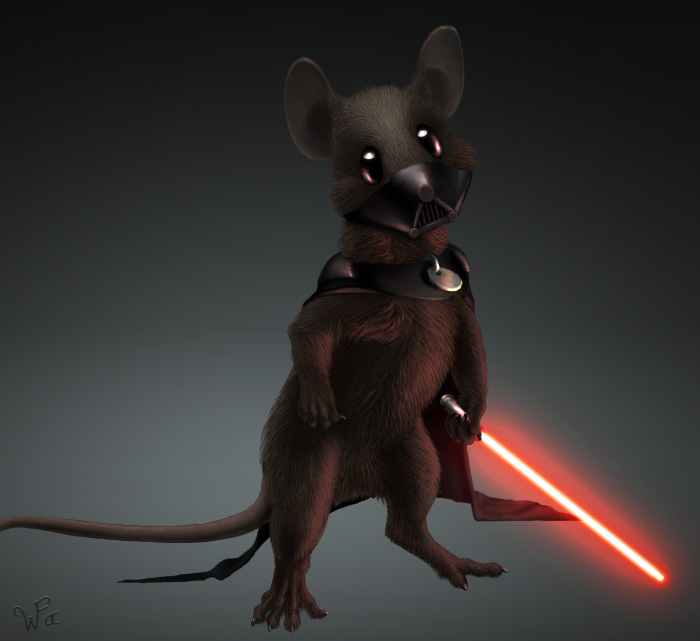 Darth Mouser by Weatherfac