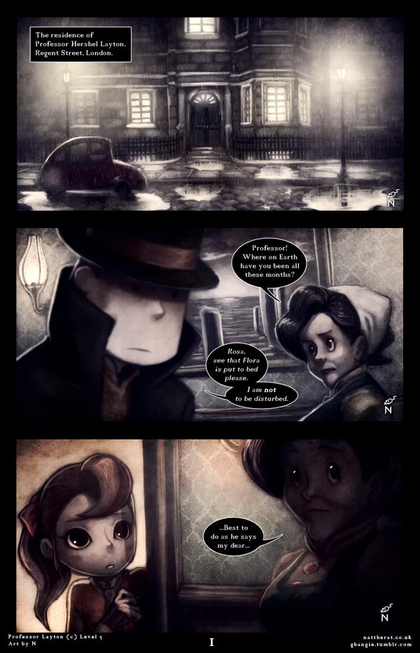 Professor Layton RP page 1 by nattherat