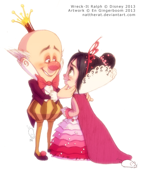 Vanellope And King Candy | www.pixshark.com - Images ... Vanellope And King Candy
