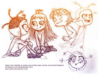 Mona sketchdump by nattherat