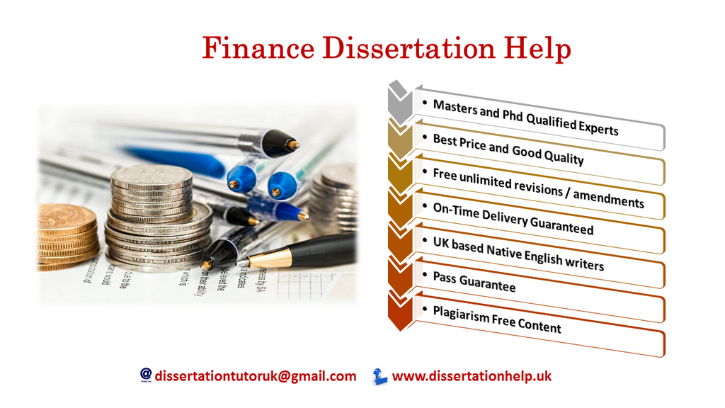 Finance Dissertation Topics from Experts