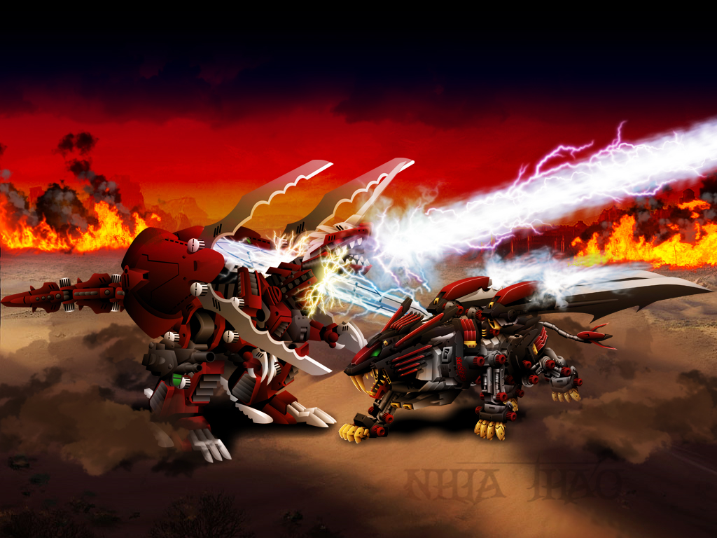 Zoids Battle By Nyiaj On DeviantArt