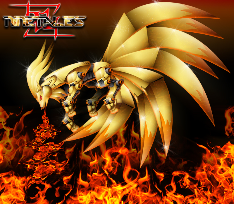 Ninetales - Zoids by N...