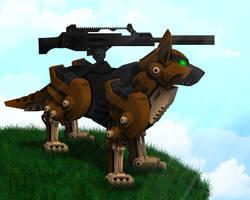 Zoids - German Shepherd