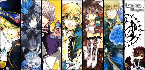 Pandora Hearts by 0guri