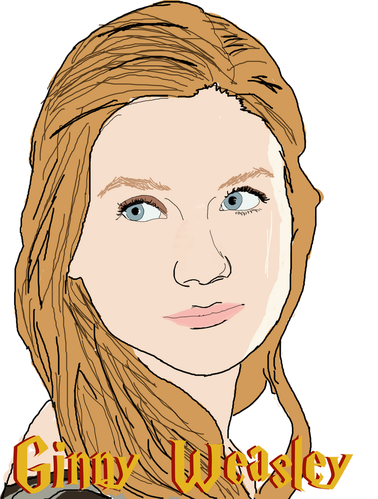 Ginny Weasley Coloring Pages - Ginny-weasley-coloring-pages