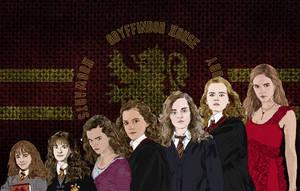 Hermione Granger Years 1-7 by Applescruffgirl