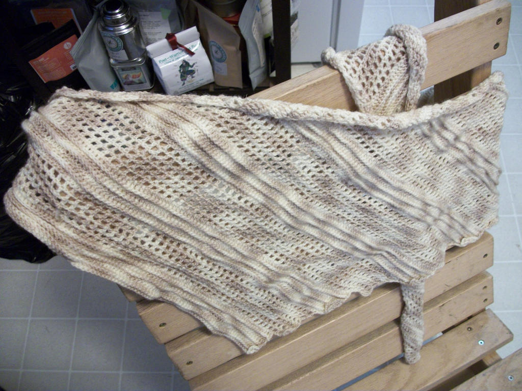 Catwing shawl by Flashgriffin