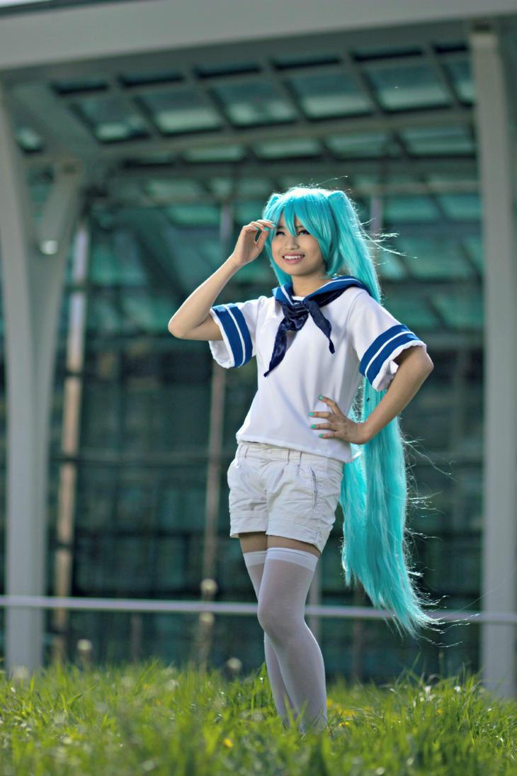Sailor Miku by Arinoa
