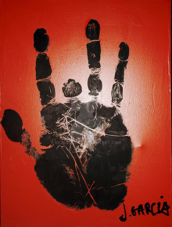 J Garcias Handprint By KKzStudios