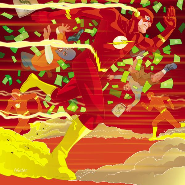 Barry Allen The Flash by gatchatom