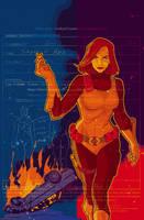 GI JOE Origins 6 cover by gatchatom