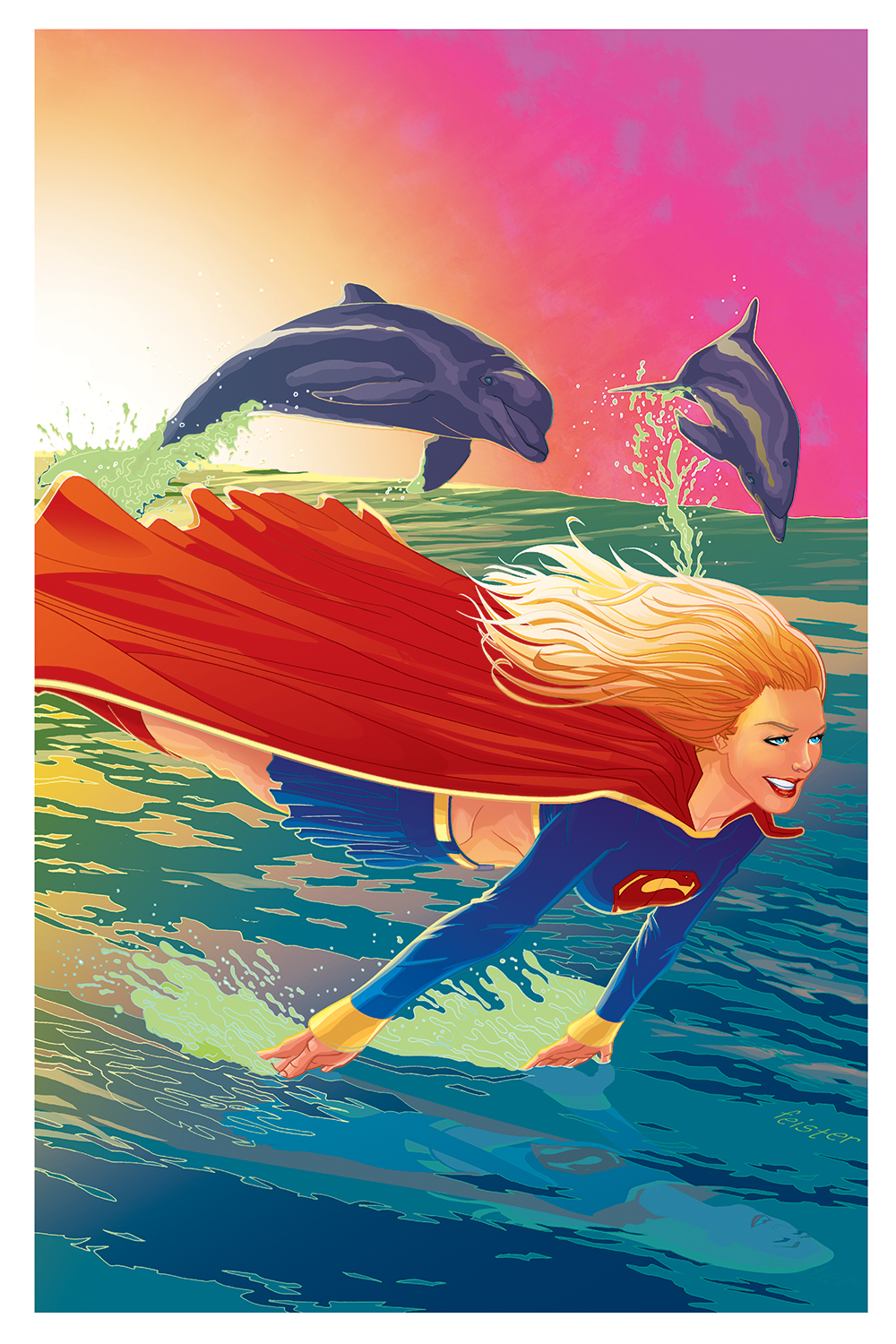 Supergirl cover by gatchatom