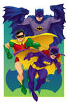 Bat-family for Baltimore Comic Con