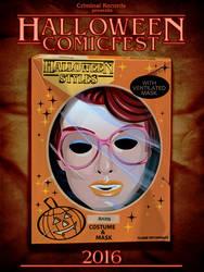 Criminal Records Halloween Comicfest poster