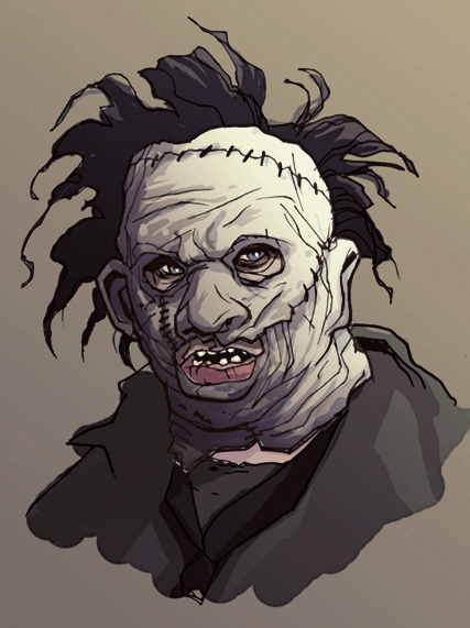 Leatherface by gatchatom