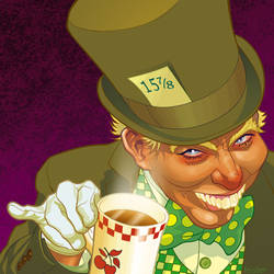 The Mad Hatter by gatchatom