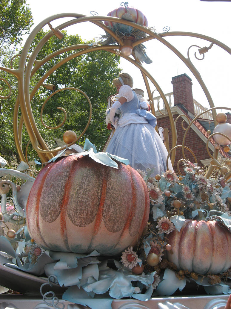 Cinderella and Pumpkin. by GreenEyezz-stock