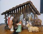 Nativity Scene by GreenEyezz-stock