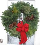 Christmas Weath 3 by GreenEyezz-stock