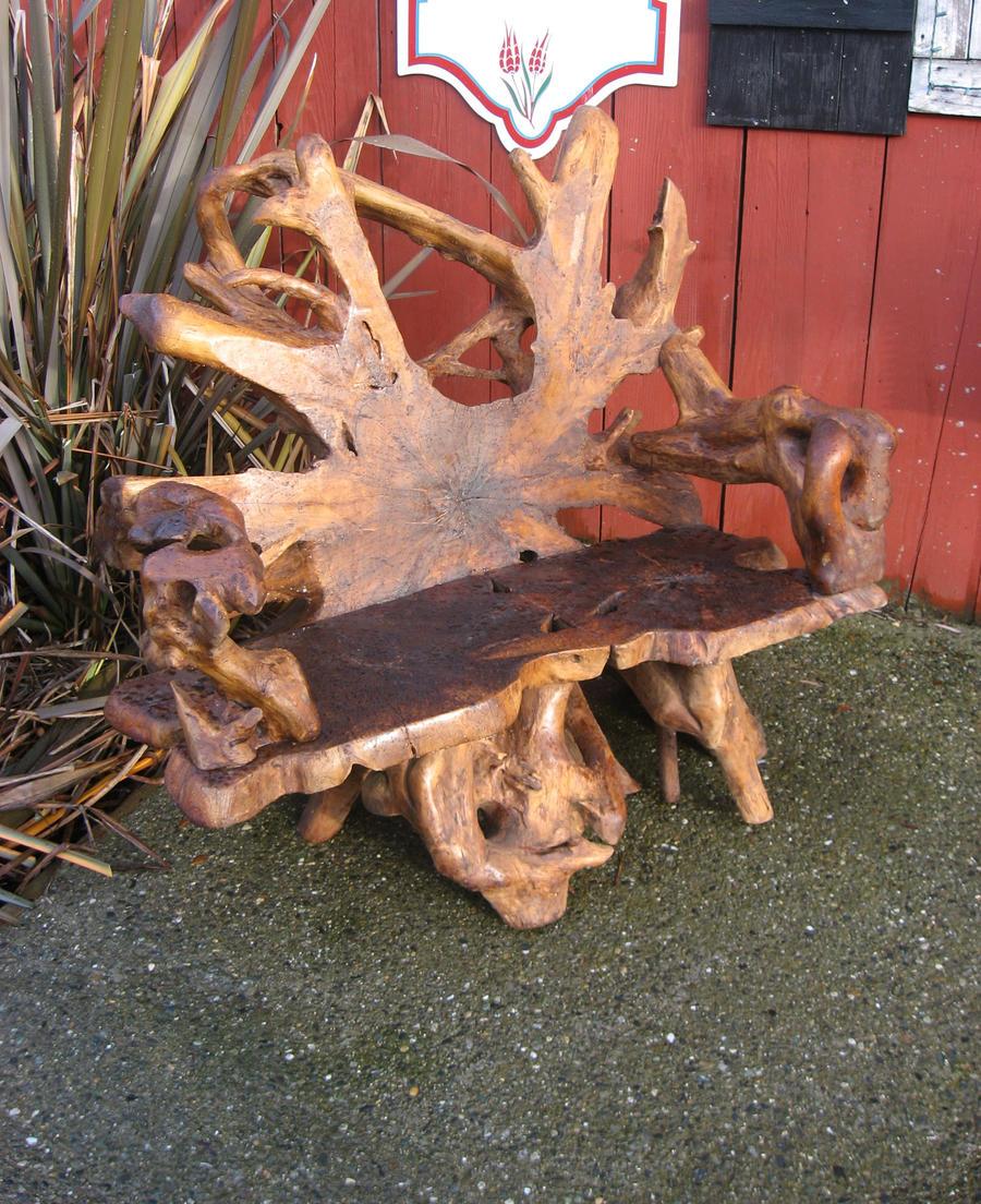 Driftwood Chair By GreenEyezz Stock Driftwood Chair By GreenEyezz Stock