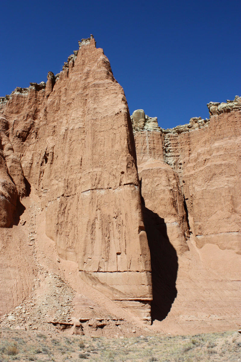 Towering cliffs by GreenEyezz-stock