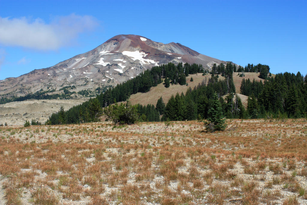 Volcano Mountain South Sister by GreenEyezz-stock