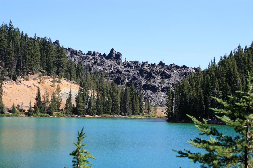 Devil's Lake Obsidian Flow by GreenEyezz-stock