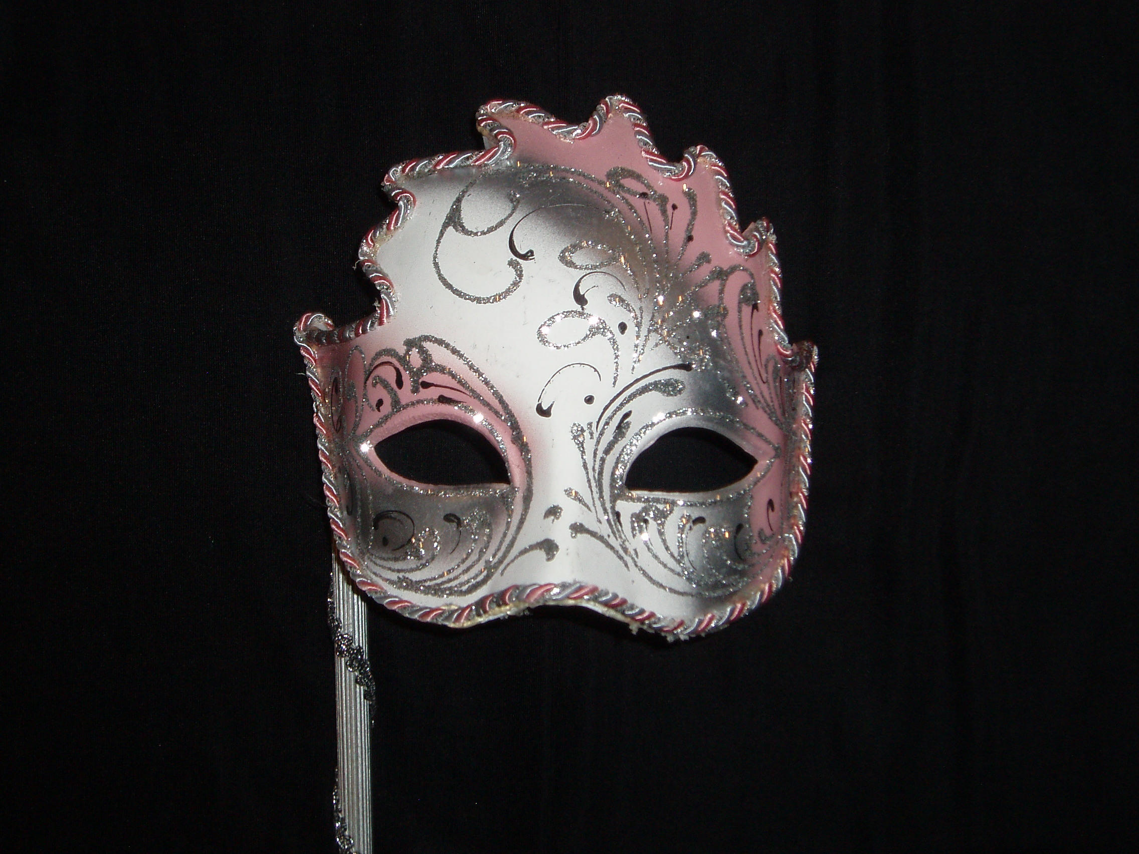 pink mask 2 by GreenEyezz-stock