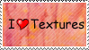 I :heart: Textures Stamp by GreenEyezz-stock