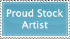 Proud to be a Stock Artist by GreenEyezz-stock