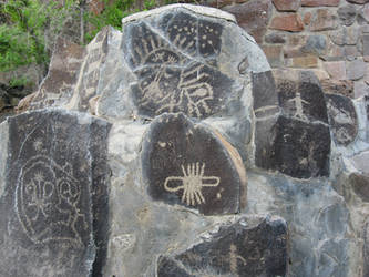Petroglyphs 1 by GreenEyezz-stock