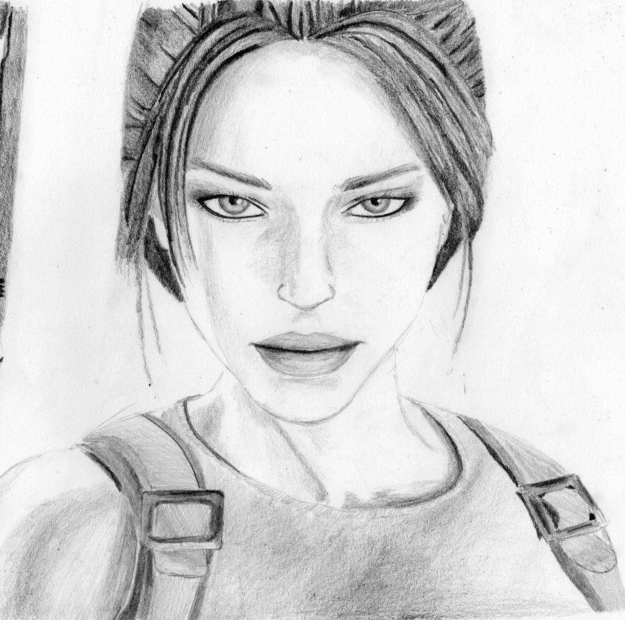 Lara Croft: Tomb Raider by Pinkadywinkwink