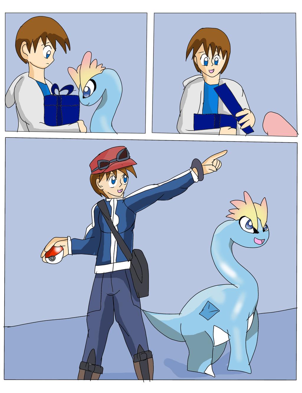 Pokemon Amaura And Aurorus Images