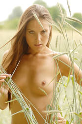Zuzka in the hay by rasmus-art