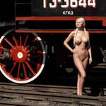 Russian railroad engine by rasmus-art