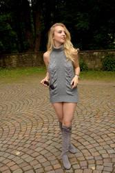 Minidress and Overknees by rasmus-art