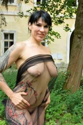 Tattooed Oksana by rasmus-art