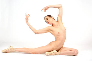 Naked Ballet Dancer III by rasmus-art