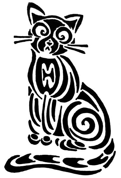 Tribales de gatos - Imagui