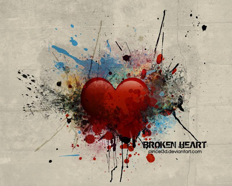 Broken Heart by pincel3d